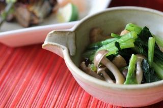 小松菜さっと煮